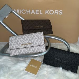 New Michael Kors wallets, 3 colors to choose from